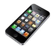 4s iphone απεικόνισης μήλων Στοκ φωτογραφίες με δικαίωμα ελεύθερης χρήσης