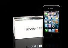 4s iphone μήλων Στοκ Εικόνα
