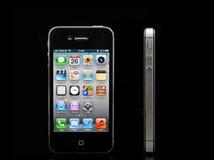 4s iphone μήλων Στοκ Εικόνες