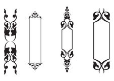 4set classical banner - vector. 4set classical banner in white background, vector stock illustration