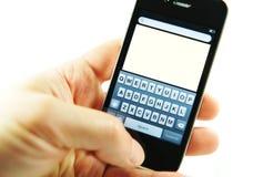 4s苹果iphone 库存照片