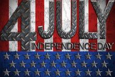 4th dagsjälvständighet juli Arkivfoton