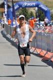 4th för edf-huez för alpe D triathlon royaltyfria bilder