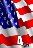4th July � Independence day Stock Image