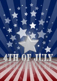 4th of July. The fourth of July independence day Royalty Free Stock Photo