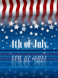 4th of July. The fourth of july independence day Stock Image