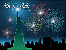 4th of July. The fourth of july independence day Royalty Free Stock Image