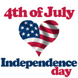 4th of July. 4th. of July. Independence day Royalty Free Stock Image