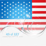 4th of july american independence day. 4th july american independence day vector Royalty Free Stock Image