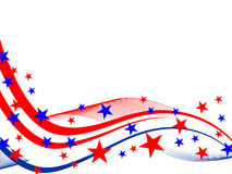 4th july background Royalty Free Stock Photography