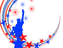 4th july background Royalty Free Stock Image