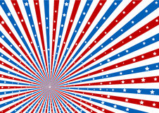 4th July background Vector Illustration