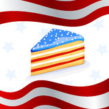 4th of july background. Illustration of a 4th of july background Stock Images