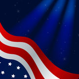 4th of july background. Illustration of a 4th of july background Royalty Free Stock Photos