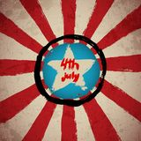 4th July background Royalty Free Stock Images