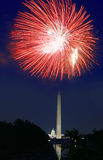 4th of July Fireworks Stock Photography