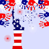 4th july - Independence day Stock Images