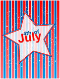 4th of July independence day. Background Royalty Free Stock Image