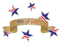4th july independence day Royalty Free Stock Image