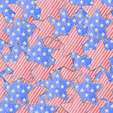 4th July independence day background. Texture Stock Image