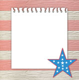 4th July independence day background Stock Photo