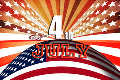 4th July independent day Royalty Free Stock Image