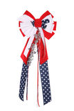 4th of July Ribbon Royalty Free Stock Photos
