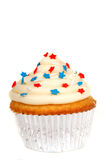 4th of July Theme cupcake Royalty Free Stock Images