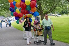 4th of July Vendors Stock Photography