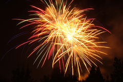 Free 4th Of July Fireworks In Eagle Point, Oregon Royalty Free Stock Image - 95932776