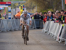 4th round of the 2011-2012 Cyclocross World Cup Stock Image