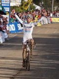 4th round of the 2011-2012 Cyclocross World Cup Royalty Free Stock Photos