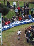4th round of the 2011-2012 Cyclocross World Cup Royalty Free Stock Image