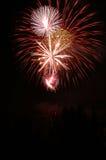 4to de los fuegos artificiales de julio fotos de archivo