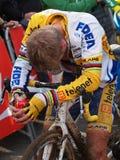 4to redondo de la taza 2011-2012 de mundo de Cyclocross Imagenes de archivo