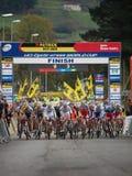 4to redondo de la taza 2011-2012 de mundo de Cyclocross Foto de archivo libre de regalías