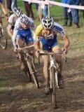 4to redondo de la taza 2011-2012 de mundo de Cyclocross Fotos de archivo