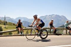4to Triathlon del d'Huez de FED Alpe Imágenes de archivo libres de regalías