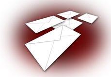 4u邮件 库存例证