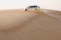4wd沙漠徒步旅行队 库存照片