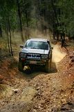 4WD adventure 2. 4WD adventure driving in the australian outback Royalty Free Stock Photo