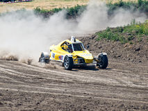 4wd buggy for extreme off-road shot on the track Royalty Free Stock Image