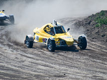 4wd buggy for extreme off-road shot on the track Stock Photo