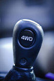 4WD Gear Shifter Royalty Free Stock Photo