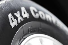 4x4轮胎 库存图片