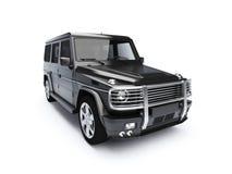 4x4 aislado SUV Fotografía de archivo libre de regalías