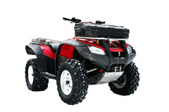 4x4 Atv With Trunk Isolated Royalty Free Stock Images