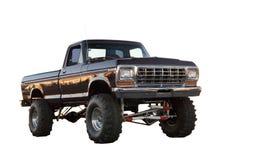 4x4 de Vrachtwagen van de Boswachter van de doorwaadbare plaats stock fotografie