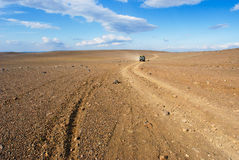 4x4 driving in Iceland Stock Images