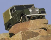 4x4 erfarenhet Land Rover Arkivbild